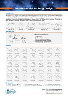 Benzoxaboroles for Drug Design