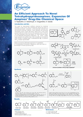 An Efficient Approach To Novel Tetrahydropyridoazepines. Expansion Of Azepines' Drug-like Chemical Space