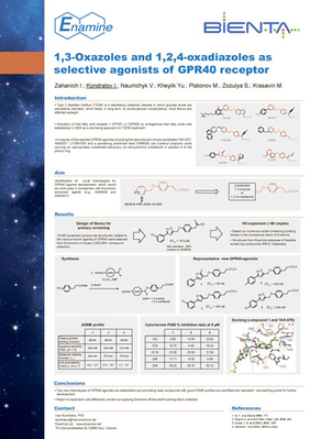 1,3-Oxazoles and 1,2,4-oxadiazoles as selective agonists of GPR40 receptor