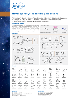 Novel spirocycles for drug discovery