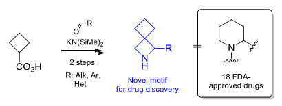 1-Substituted 2-Azaspiro[3.3]heptanes: Overlooked Motifs for Drug Discovery