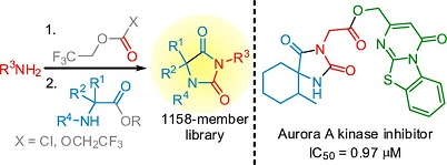 An Old Story in the Parallel Synthesis World: An Approach to Hydantoin Libraries