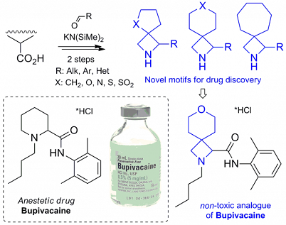 Synthesis of Multifunctional Spirocyclic Azetidines and Their Application in Drug Discovery