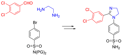Potent, orally available, selective COX-2 inhibitors based on 2-imidazoline core