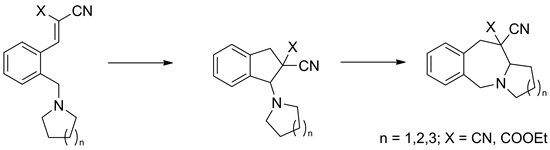 The homologous tert-amino effect: a route to fused 2-benzazepine derivatives