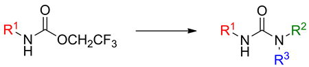 A facile synthesis of unsymmetrical ureas
