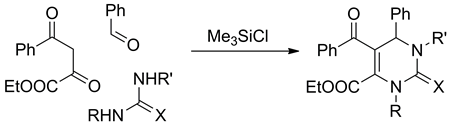 Acyl pyruvates as synthons in the Biginelli reaction