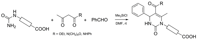 Protecting Group Free Synthesis of Carboxyl-substituted Dihydropyrimidines Through Biginelli Reaction