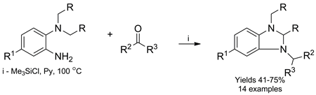 One-Pot Synthesis of 2,3-Dihydro-1H-benzimidazoles