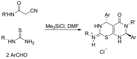 A one-step fusion of 1,3-thiazine and pyrimidine cycles
