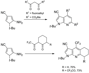 Synthesis of Fluorinated Pyrrolo[2,3-b]pyridine and Pyrrolo[2,3-d]pyrimidine Nucleosides