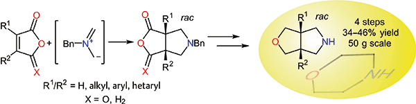 An Approach to 3-Oxa-7-azabicyclo[3.3.0]octanes – Bicyclic Morpholine Surrogates