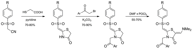 Synthesis of Sulfones in the Pyrrolo[2,1-b]thiazole Series