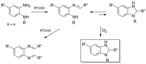 Synthesis of Fused Imidazoles and Benzothiazoles from (Hetero)Aromatic ortho-Diamines or ortho-Aminothiophenol and Aldehydes Promoted by Chlorotrimethylsilane