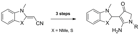 Synthesis of Masked 2-Amino-4,5-dihydro-4-oxopyrrole-3-carboxaldehydes