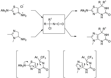 Facile Synthesis of Fluorinated Purines and Thiapurines