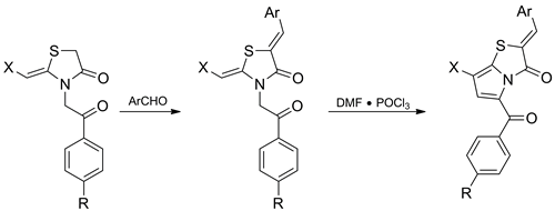 Synthesis of Pyrrolo[2,1-b]thiazol-3-one Derivatives