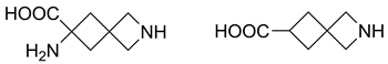Synthesis of 2-azaspiro[3.3]heptane-derived amino acids: ornitine and GABA analogues